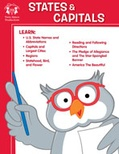 States & Capitals Activity Book and MP3 Bundle