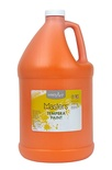 Little Masters® Tempera Paint, Gallon, Orange