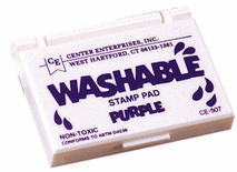 Washable Stamp Pad, Purple