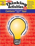 Hands-On Thinking Activities-Centers Through the Year, Grades 1-3 (Enhanced eBook)