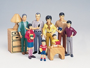 Pretend Play Families, Asian Family