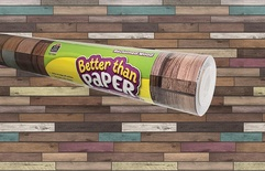 Better Than Paper® Bulletin Board Roll, Reclaimed Wood