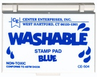 Washable Stamp Pad, Blue
