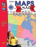 Outline Maps of Canada, Grades K-3