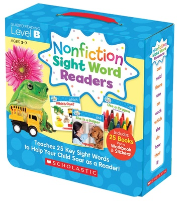 Nonfiction Sight Word Readers Parent Pack, Level B