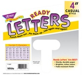 "4"" Uppercase Casual Solids Ready Letters®, Gold"