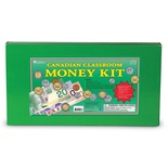 Canadian Classroom Money Kit with Lid