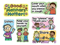 Good Manners Matter Mini Bulletin Board Set
