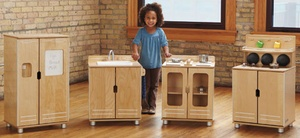 TrueModern® Play Kitchen, Cupboard