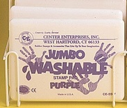 Jumbo Washable Stamp Pad, Purple
