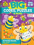 Big Workbook Codes, Puzzles & More, Grades 1-3