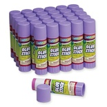 Economy Glue Stick, Purple, 1.41 oz. Box of 30