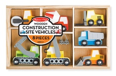 Wooden Construction Site Vehicles