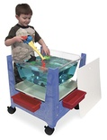 See-All Sand & Water Center (Brown/Blue/or Sandstone)