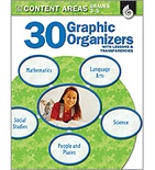 30 Graphic Organizers for the Content Areas Grades 3-5 (Enhanced eBook)