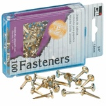 "Paper Fasteners, 1"", Box of 100"
