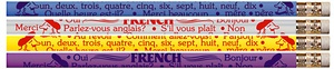 French Pencil, Pack of 12