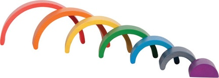 Wooden Rainbow Architect Arches