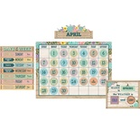 Rustic Bloom Calendar Set