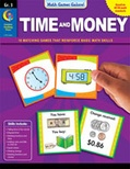 Math Games Galore: Time and Money (Grade 3)