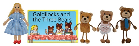Traditional Story Sets, Goldilocks and The Three Bears
