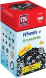 BRICTEK Building Blocks, Wheels Kit