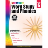 Spectrum® Word Study and Phonics, Grade 6