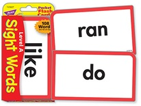 Sight Words-Level A Pocket Flash Cards