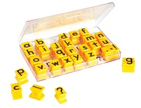 Stamp Set, Regular Size, Lowercase Letters