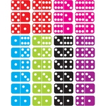 Math Die-Cut Magnets, Dominoes
