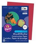 "SunWorks® Construction Paper, 9"" x 12"", Red"