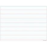 "Handwriting 3/4"" Lined 17"" x 22"" Smart Poly™ Chart"