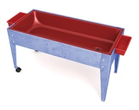 Super Sand & Water Activity Table w/Red Tub, Youth