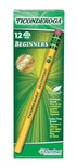 Ticonderoga® Beginner Pencil, With Eraser