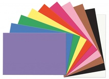 "SunWorks® Construction Paper, 12"" x 18"", Assorted, 10 Colors"