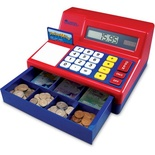 Calculator Cash Register with Canadian Money