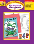 Take It to Your Seat Literacy Centers, Grades K,1 (Enhanced eBook)
