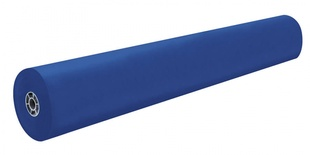 "Rainbow® Colored Kraft Roll, 36"" x 1000',Dark Blue"