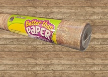 Better Than Paper® Bulletin Board Roll, Rustic Wood