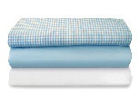 CozyFit™ Sheets, Toddler Size, White