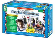 Photographic Learning Cards: People and Emotions