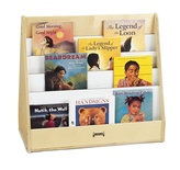 "Single-Sided Pick-A-Book Stand, Stationary 30""W x 15 1/2""D x 27""H"