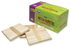 Craft Sticks, Natural, 1,000 pieces