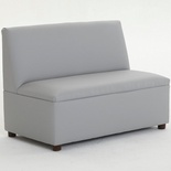 """Just Like Home"" Modern Casual Sofa, Enviro-Child Upholstery, Gray"