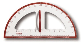 Magnetic Dry Erase Measurement Tool, Protractor