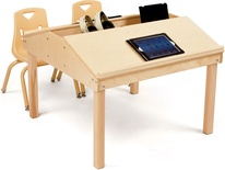 Quad Tablet and Reading Table