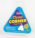 Three-Corner® Flash Cards, Addition and Subtraction