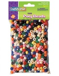 Pony Beads, Bright Hues