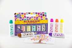 Do-A-Dot Art Markers, Mini Island Bright Washable, 6 pack