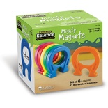 "Primary Science 5"" Horseshoe-Shaped Magnets, Set of 6"